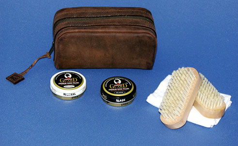 SHOE SHINE KIT (Oroton Leather)